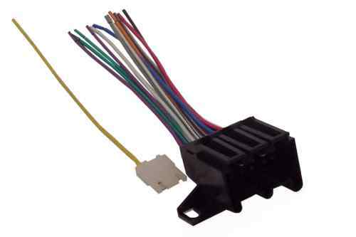 78 91 gm harness to aftermarket stereo radio adapter ebay. Black Bedroom Furniture Sets. Home Design Ideas