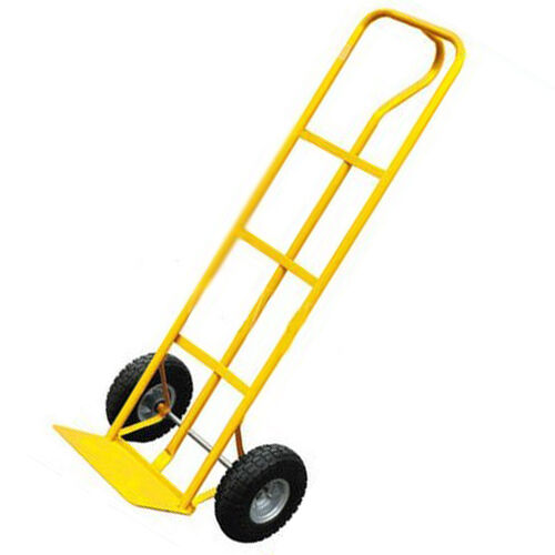 Lb heavy duty sack truck industrial hand trolley with