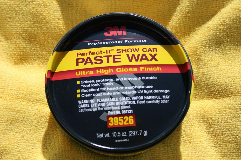M Perfect It Show Car Paste Wax   Oz