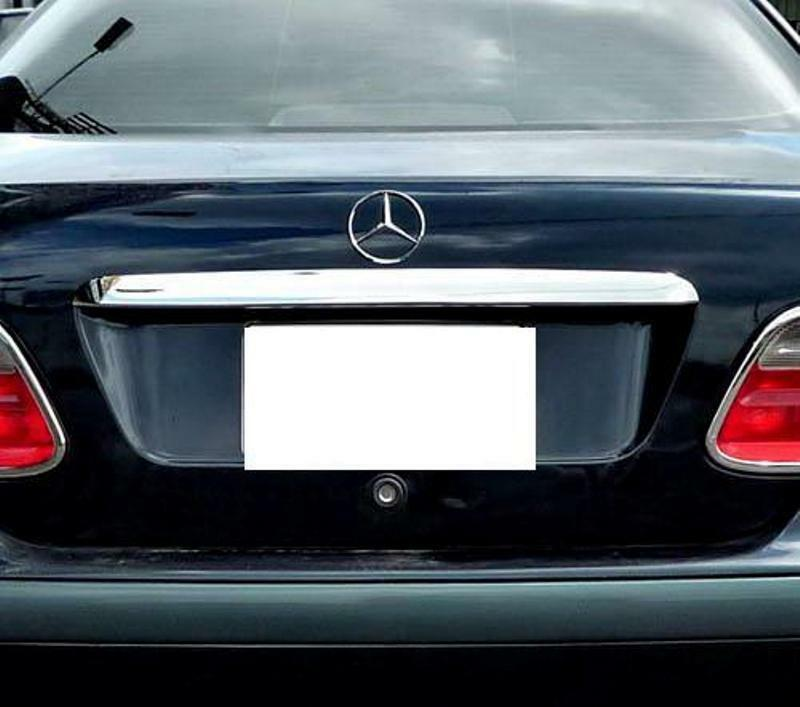 Mercedes clk w208 chrome boot trim ebay for Mercedes benz chrome accessories