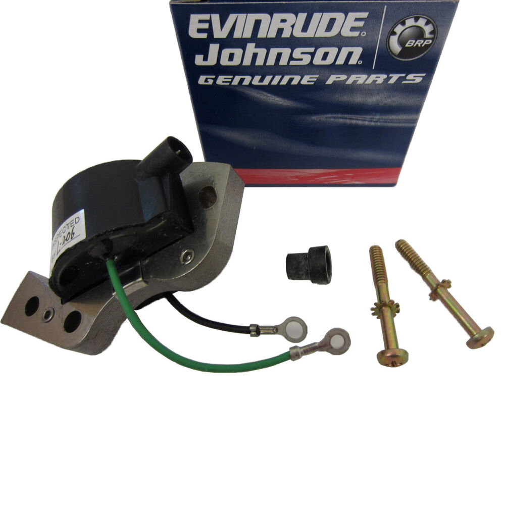 Johnson  Evinrude  Omc New Oem Ignition Coil 584477  0584477