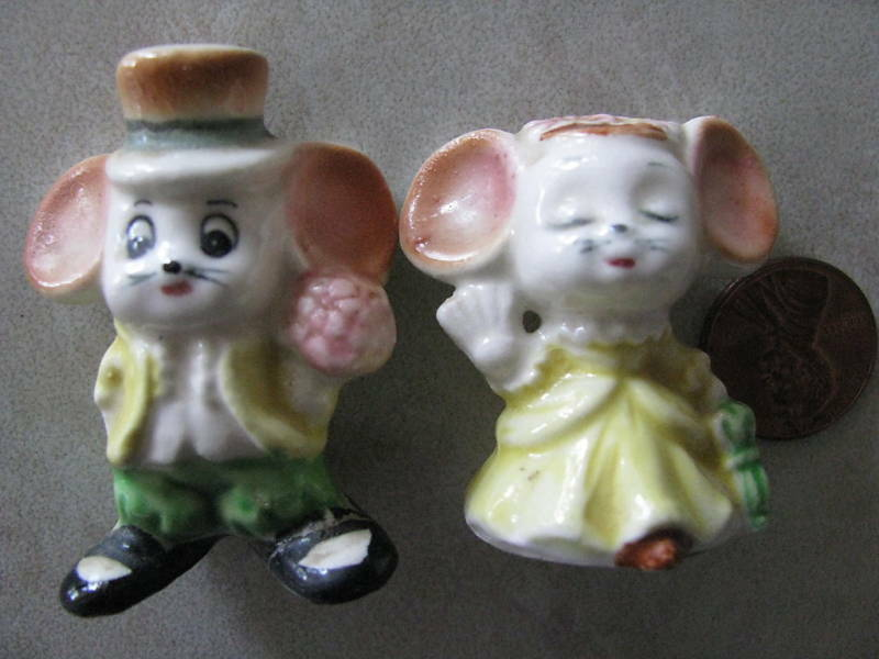 mice wedding cake toppers uk vintage mouse ceramic cake topper japan figurine ebay 17334