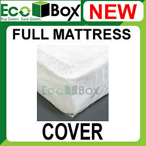 NEW Full Mattress Boxspring Poly Storage Cover Bag NIB | eBay