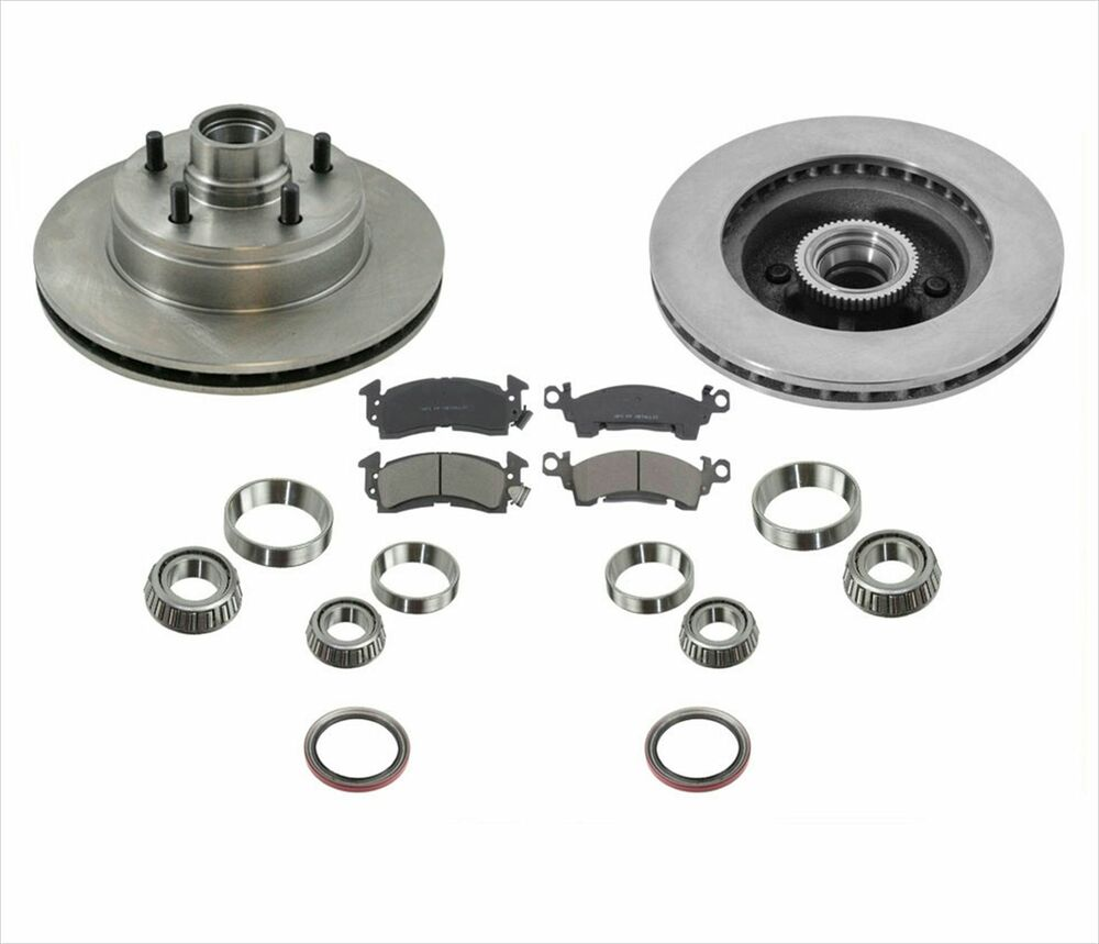 1994-2002 Astro Van 2 Wheel Drive Front Rotors Brake Pads ...