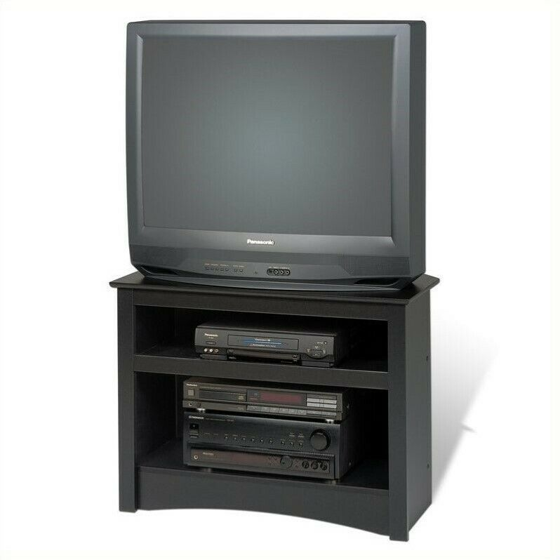 tv stand black entertainment center corner tv stands stand furniture 32 10885