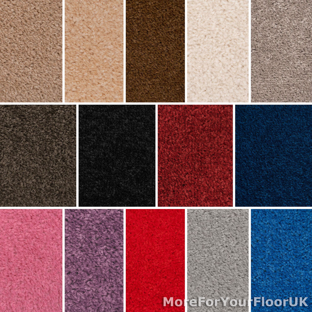 Quality feltback twist carpets lounge bedroom cheap ebay for Cheap cheap carpet