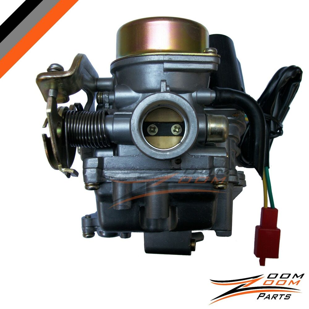 Moped Carburetor Parts : Mm carburetor carb gy scooter wildfire cc ebay