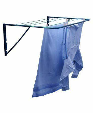 Minky Fence Amp Wall Mounted Outdoor Clothes Airer Washing