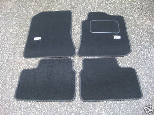 Car Mats In Black To Fit Rover 75 Mg Zt British