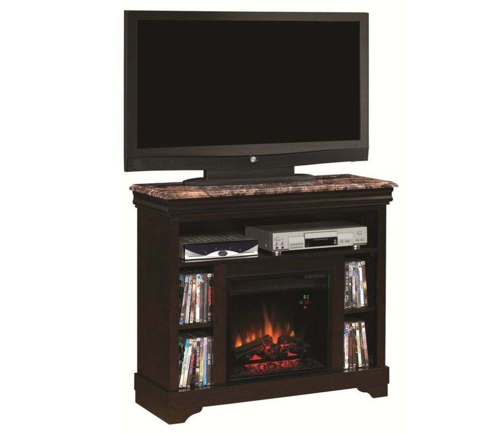 Electric Fireplace Heater Entertainment Center Media Mantle Tv Stand 900373 Ebay