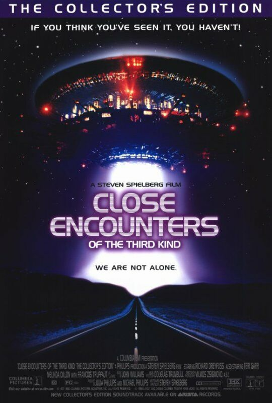 Close Encounters of the Third Kind Poster Movie 27x40 | eBay