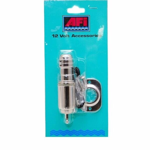 12 Volt Marine Lights: 12V Stainless Steel Cigarette