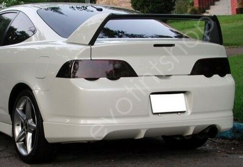 02 04 Rsx Smoke Tail Light Tint Cover Black Out Overlay Ebay