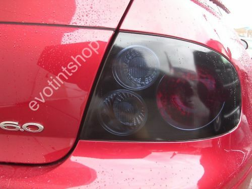 04 06 Gto Smoke Tail Light Tint Cover Black Out Overlay Ebay