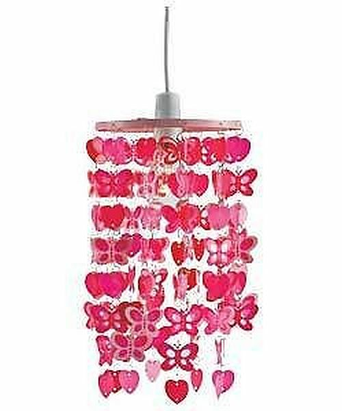 bedroom light shades uk bedroom butterfly dangling light shade pink ebay 14344
