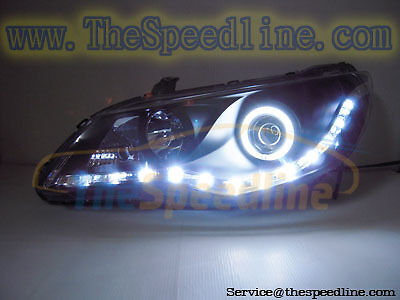 06 07 08 09 10 11 Honda Civic Led R8 Headlight Fd Fd2 Ebay