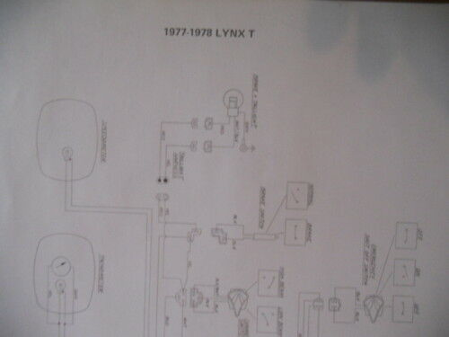 Artic Cat 1977 1978 Lynx T Wiring Diagram