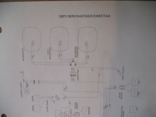 Artic Cat Wiring Diagram 1977 1978 Pantera Cheetah