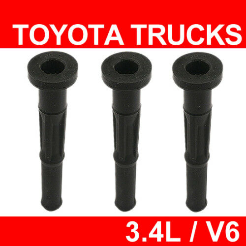 Coil Boot Tube 3 Pcs Ignition Spark Plug For Toyota 3 4l