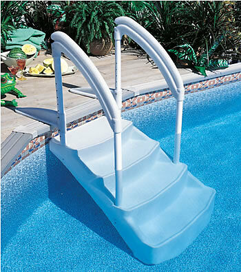 above ground swimming pool stairs steps royal entrance ebay