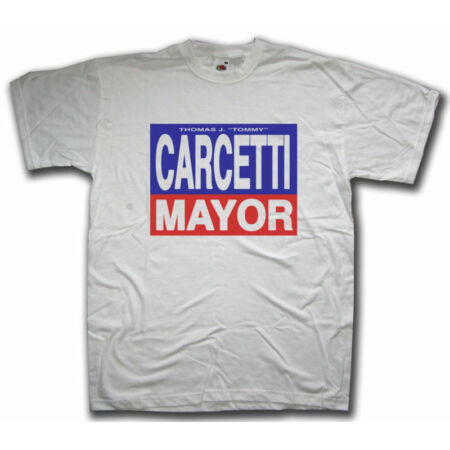 img-As Seen In The Wire T shirt - Carcetti For Mayor The Shield CSI Cult TV T-shirt