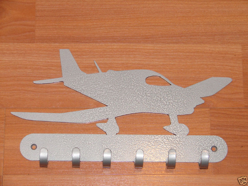 Airplane Key Rack Home Decor Hat Leash Hanging Cessna Ebay