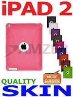 Amzer Baby Pink Silicone Skin Case For Apple iPad 2