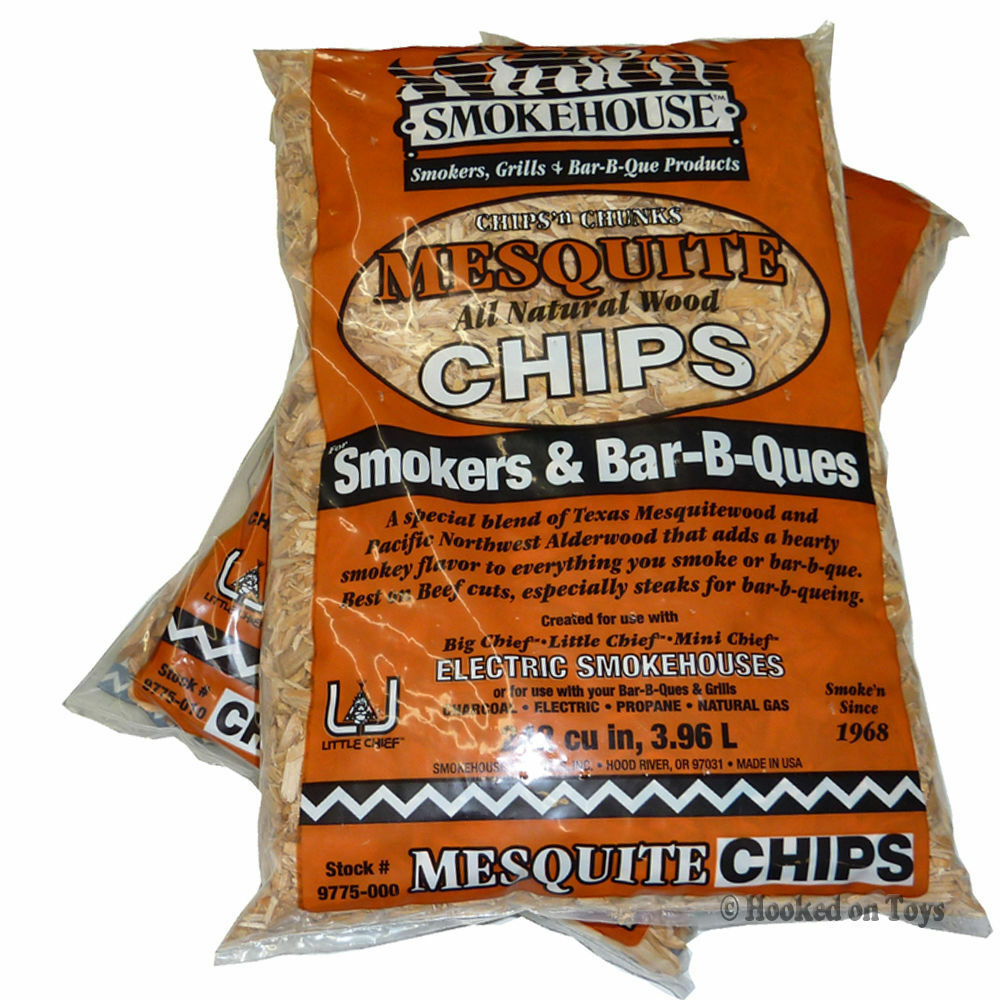 Smokehouse products inc smoker wood chips bags
