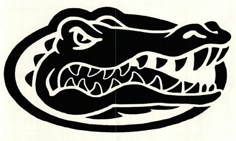 Florida Gator Stickers : Nfl football cornhole car florida gators vinyl decal ebay