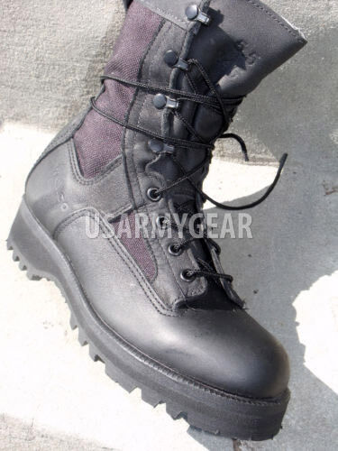 Belleville Wellco Bates Gore Tex Military Black Leather