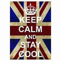 P2549 KEEP CALM AND CARRY ON STAY COOL FUNNY NEW POSTER