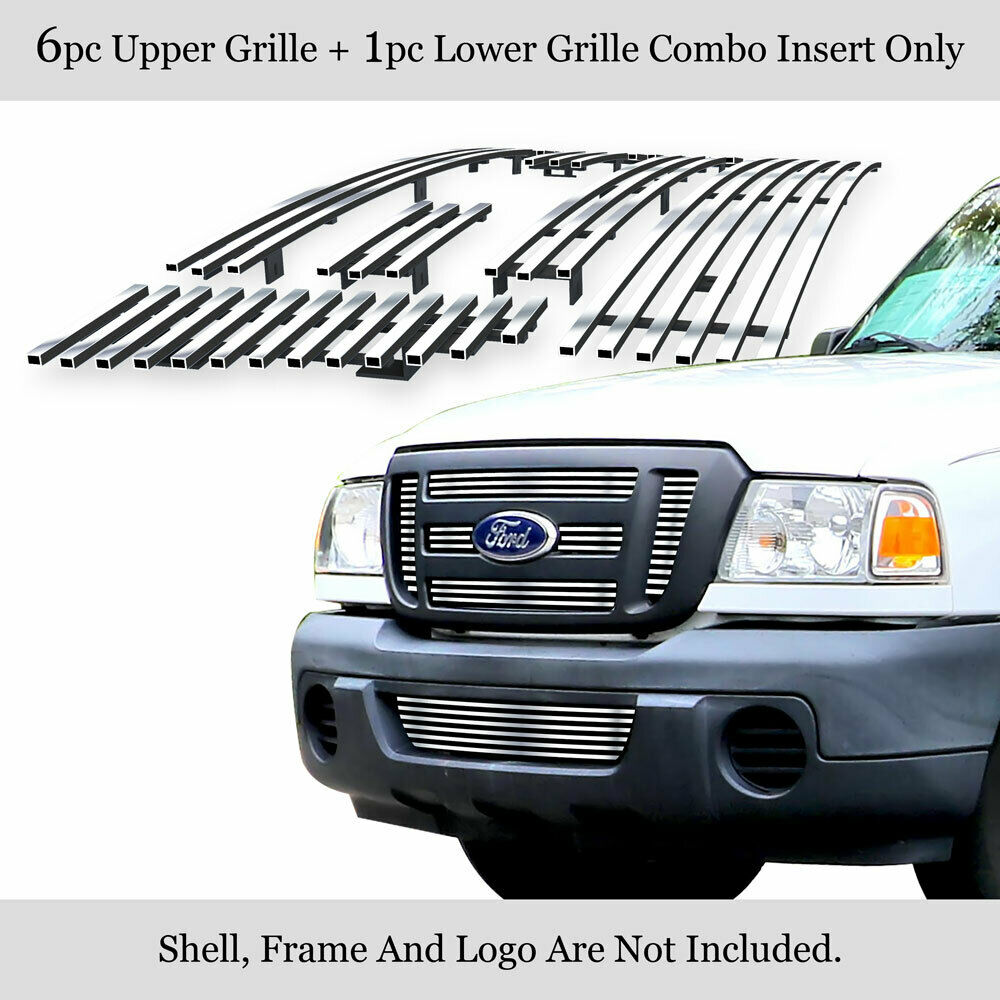 for 06 11 2011 ford ranger fx4 xl xlt billet grille combo. Black Bedroom Furniture Sets. Home Design Ideas