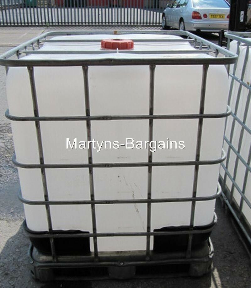ibc water tank 1000 litre ibc container water storage ebay. Black Bedroom Furniture Sets. Home Design Ideas