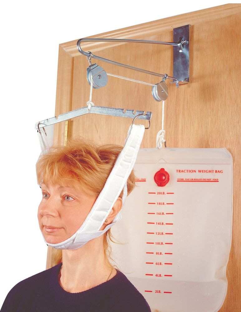 traction machine for neck and back