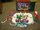 Fisher Price Little People Fun Sounds Christmas Train 1 Santa Claus Elf Sounds