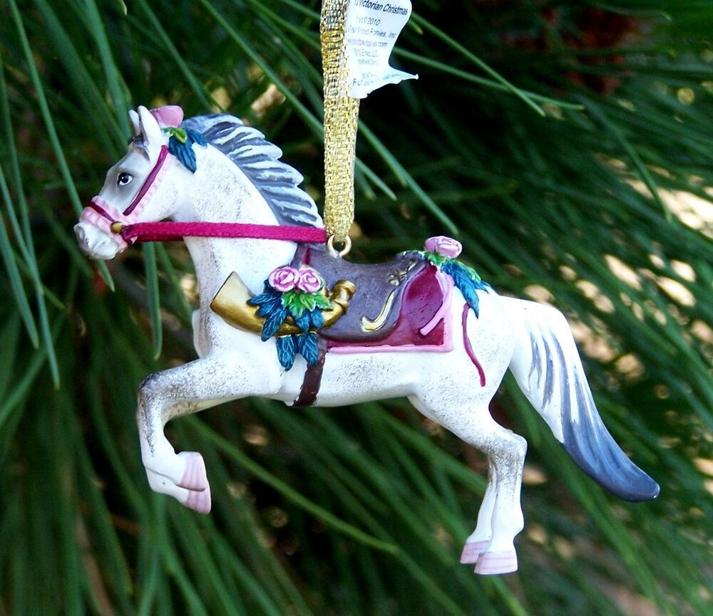 Painted Ponies Victorian Christmas Ornament | eBay