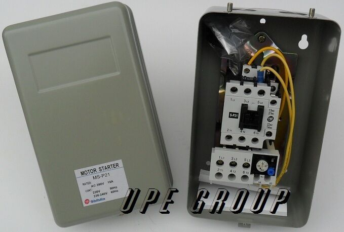 Magnetic Motor Starter Control For Electric Motor 5 Hp 3