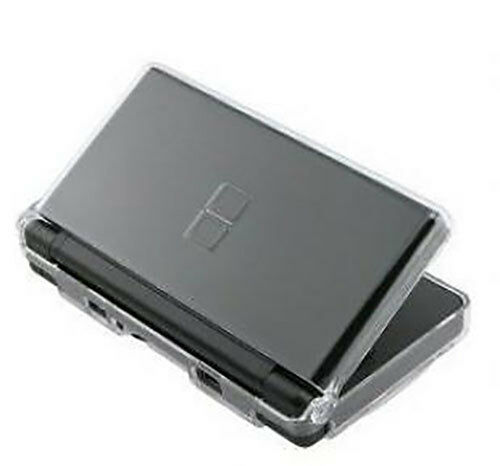clear crystal hard case for nintendo ds lite brand new ebay. Black Bedroom Furniture Sets. Home Design Ideas