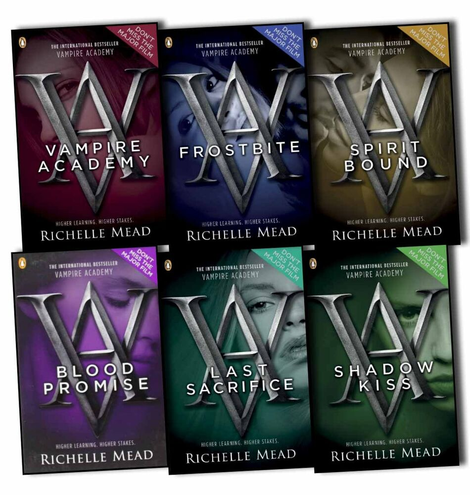Vampire Academy Collection Richelle Mead 6 Books Set | eBay