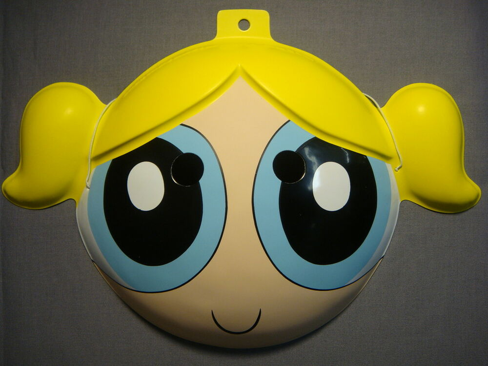 THE POWERPUFF GIRLS BUBBLES HALLOWEEN MASK PVC NEW | eBay