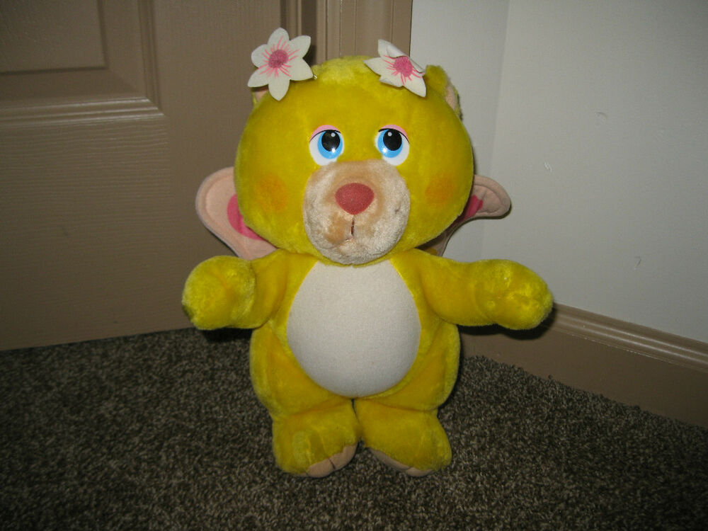 "Vintage Disney Wuzzles Butterbear 1984 12"" plush Toy 