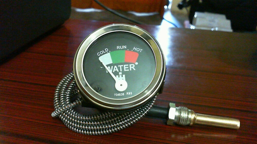 Farmall M Tractor Gauges : Ih farmall water tractor temperature gauge with