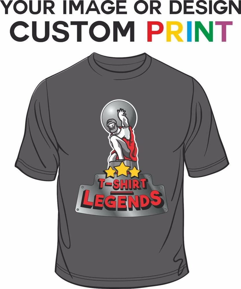Your photo picture personalized mens t shirt direct to for Direct to garment t shirts