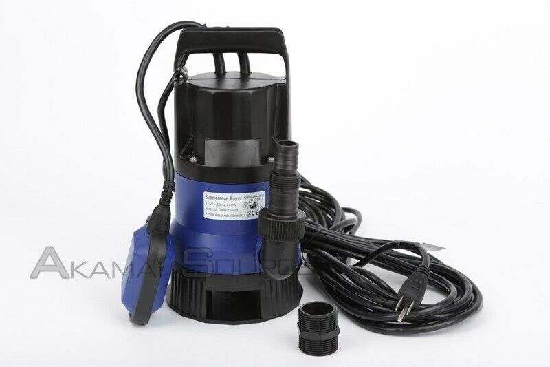 New 1 2 hp submersible dirty clean water pump flooding for Pond drain pump