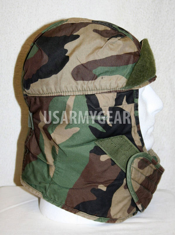Us Army Military Insulated Woodland Camouflage Helmet