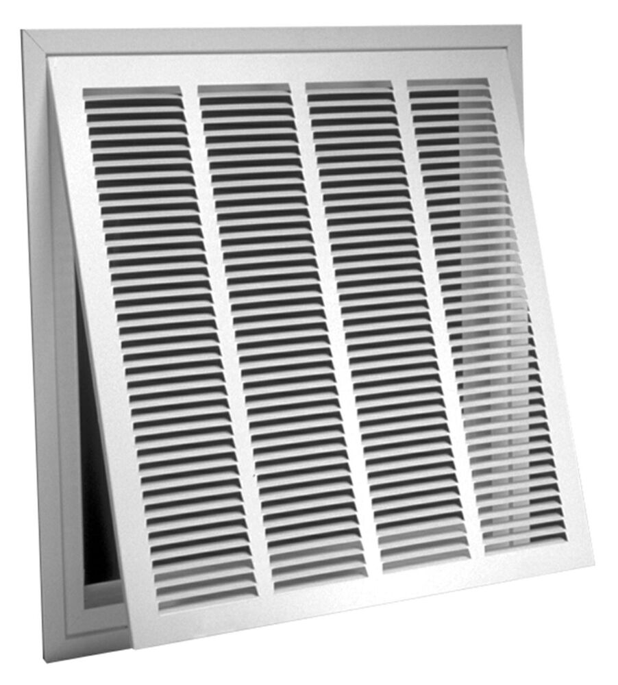 18 X 30 Filter Back Return Air Grille With Filter Ebay