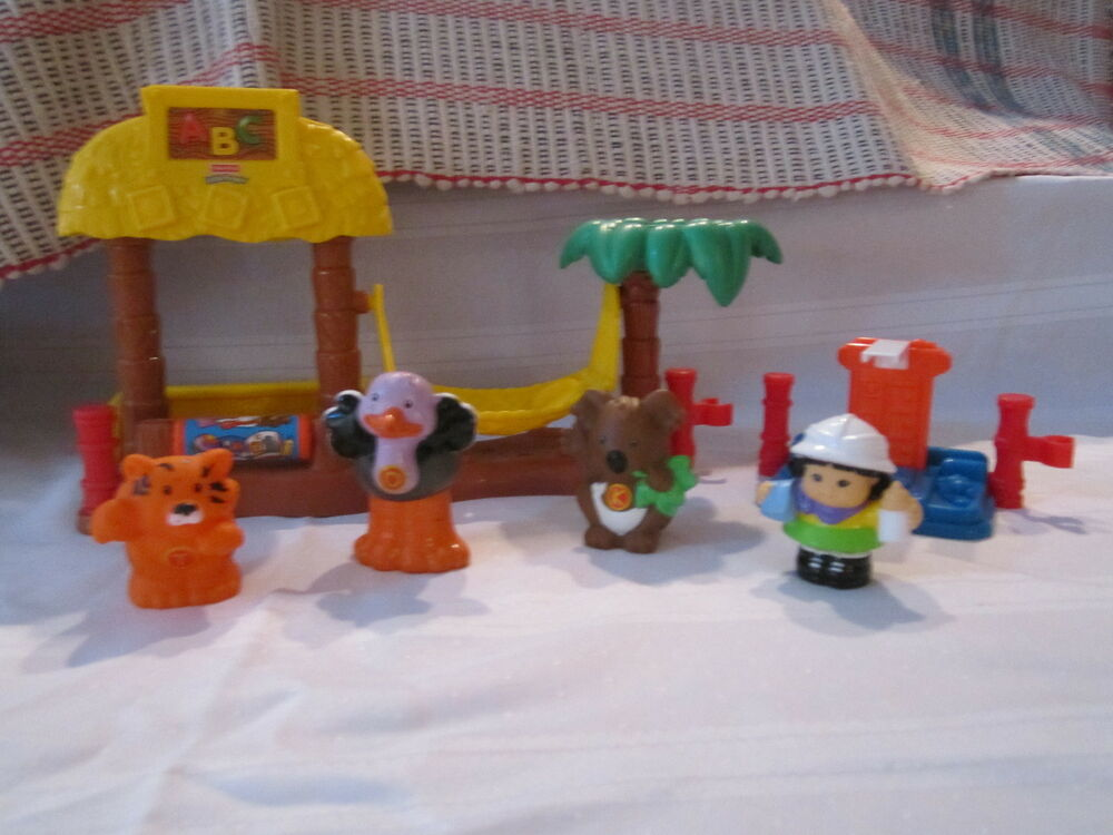 Fisher Price Little People ABC Zoo Nursery Play Set Alphabet Baby Animal | eBay