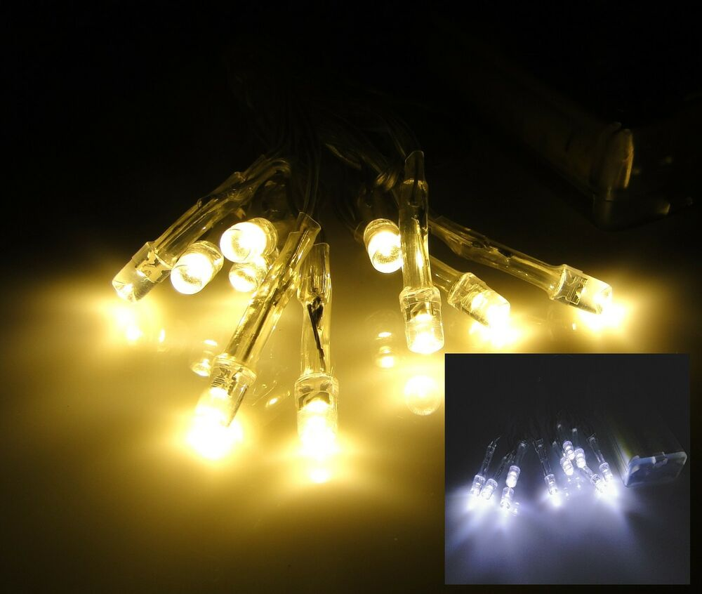 led lichterkette batterie warmweiss kalt weiss innen lichterketten leds 10 20 30 ebay. Black Bedroom Furniture Sets. Home Design Ideas