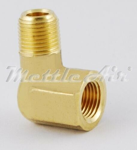 Pc brass pipe deg quot npt street elbow forged fitting
