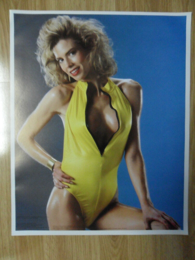 Sexy Girl Dorm Poster Big Hair Vintage 80S Kimberly Layne -3241